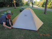 tent looks weird