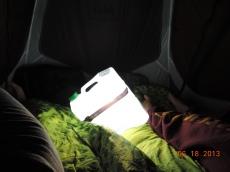 tent so bright