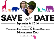 momo clark save the date